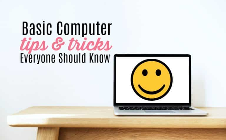 10 Basic Computer Tips and Keyboard Shortcuts That Will Save You So Much Time