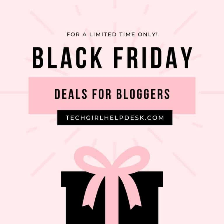 Awesome Black Friday Deals for Bloggers You'll Absolutely Love